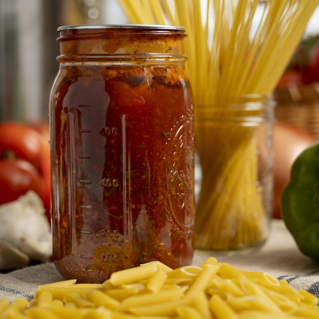 spaghetti meat sauce recipe with the canning diva