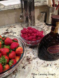 Berries Godiva Copyright