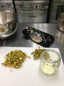 Cleaning Pistachios for Peach Pistachio Conserve with The Canning Diva