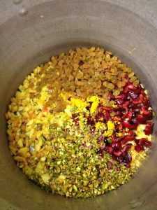 Ingredients for Peach Pistachio Conserve with The Canning Diva