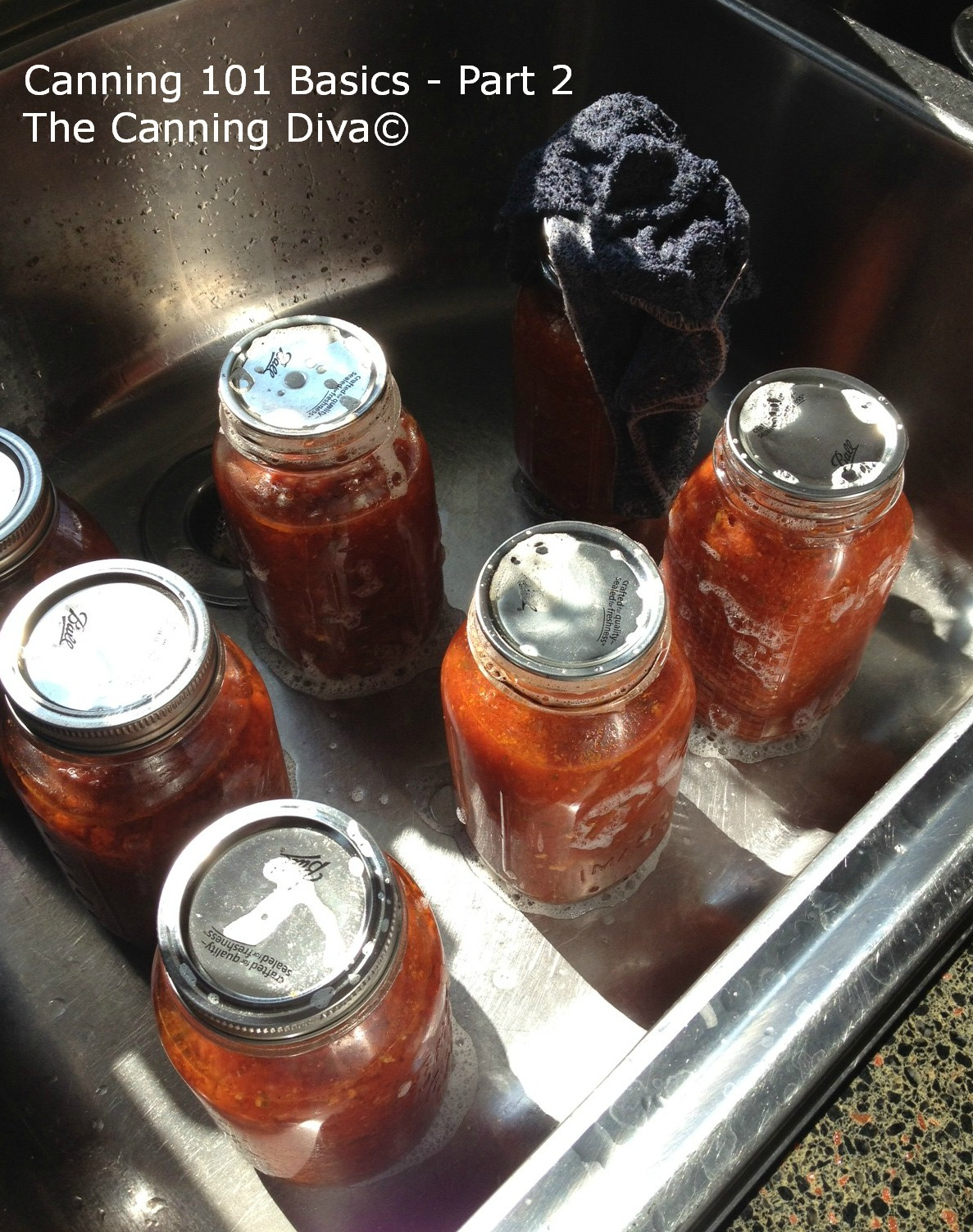canning 101 basics - part 2