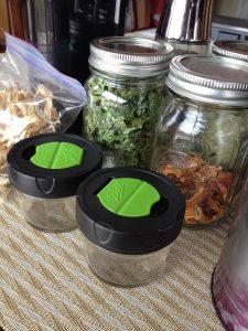 dried herb storage