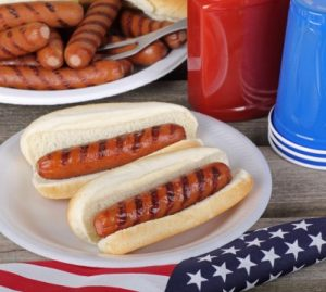 hot dogs for memorial day