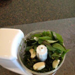 mint basil pesto adding ingrd to fdpsr