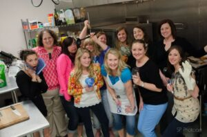 Canning Party with Friends and The Canning Diva