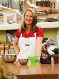 The Canning Diva teaching a canning class